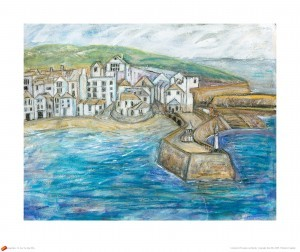 Julie Ellis Art Looking Back St. Ives (thumb)