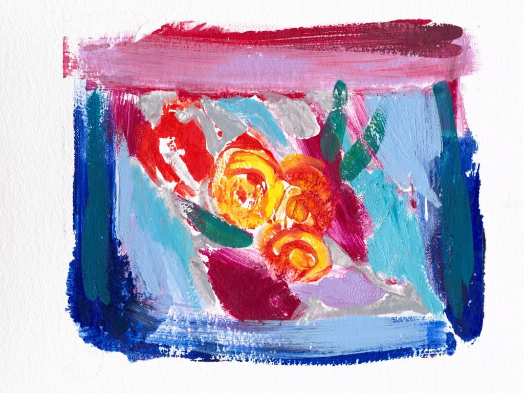 Julie Ellis Art Yellow Roses