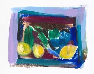 Julie Ellis Art Lemons On the Sill (thumb)